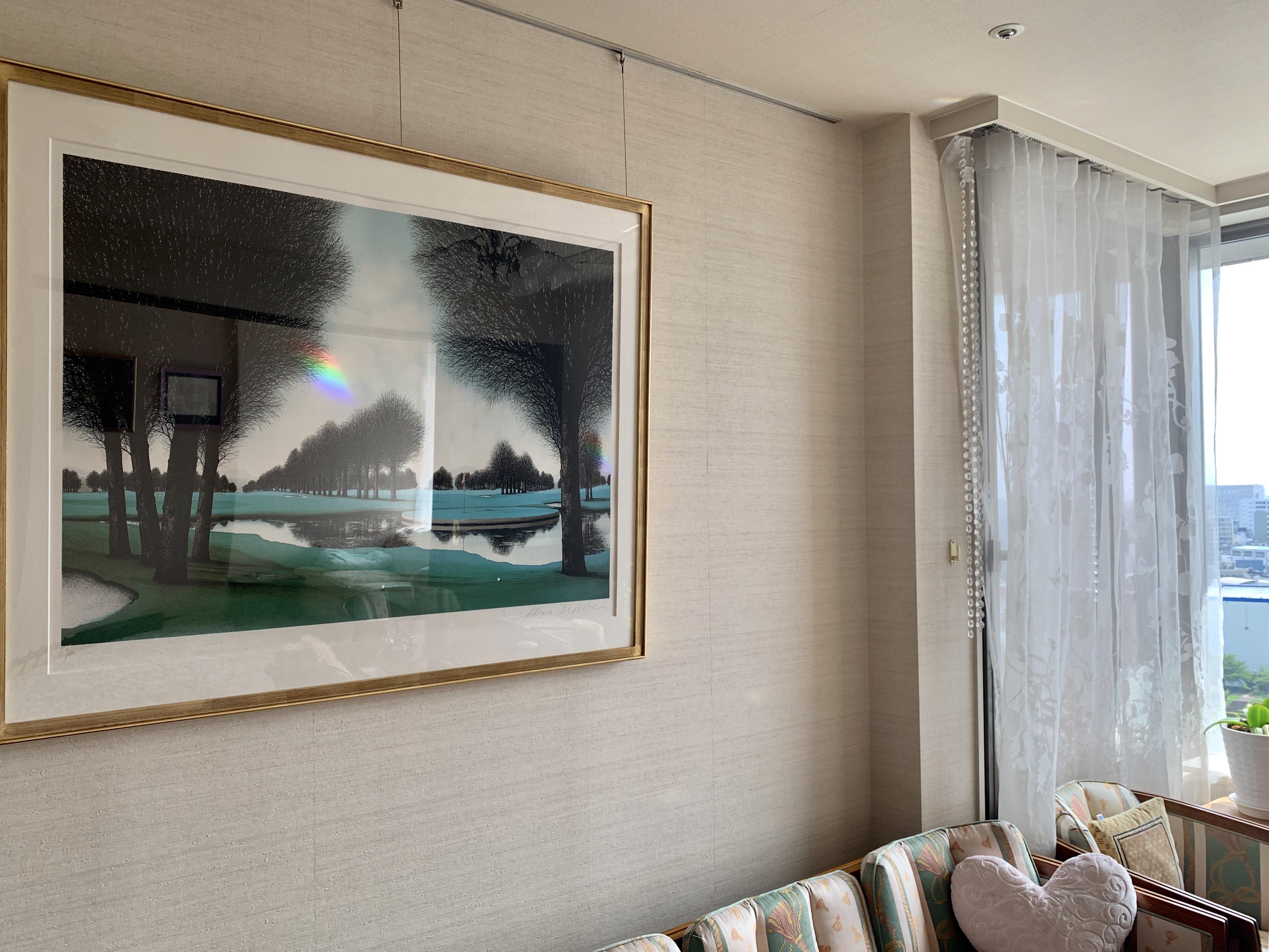 我が家の虹