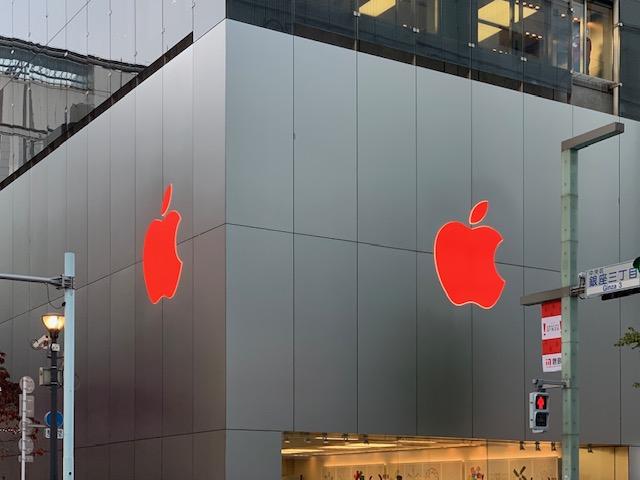 なんか楽しい銀座の Apple Store – Xmas Version🍎