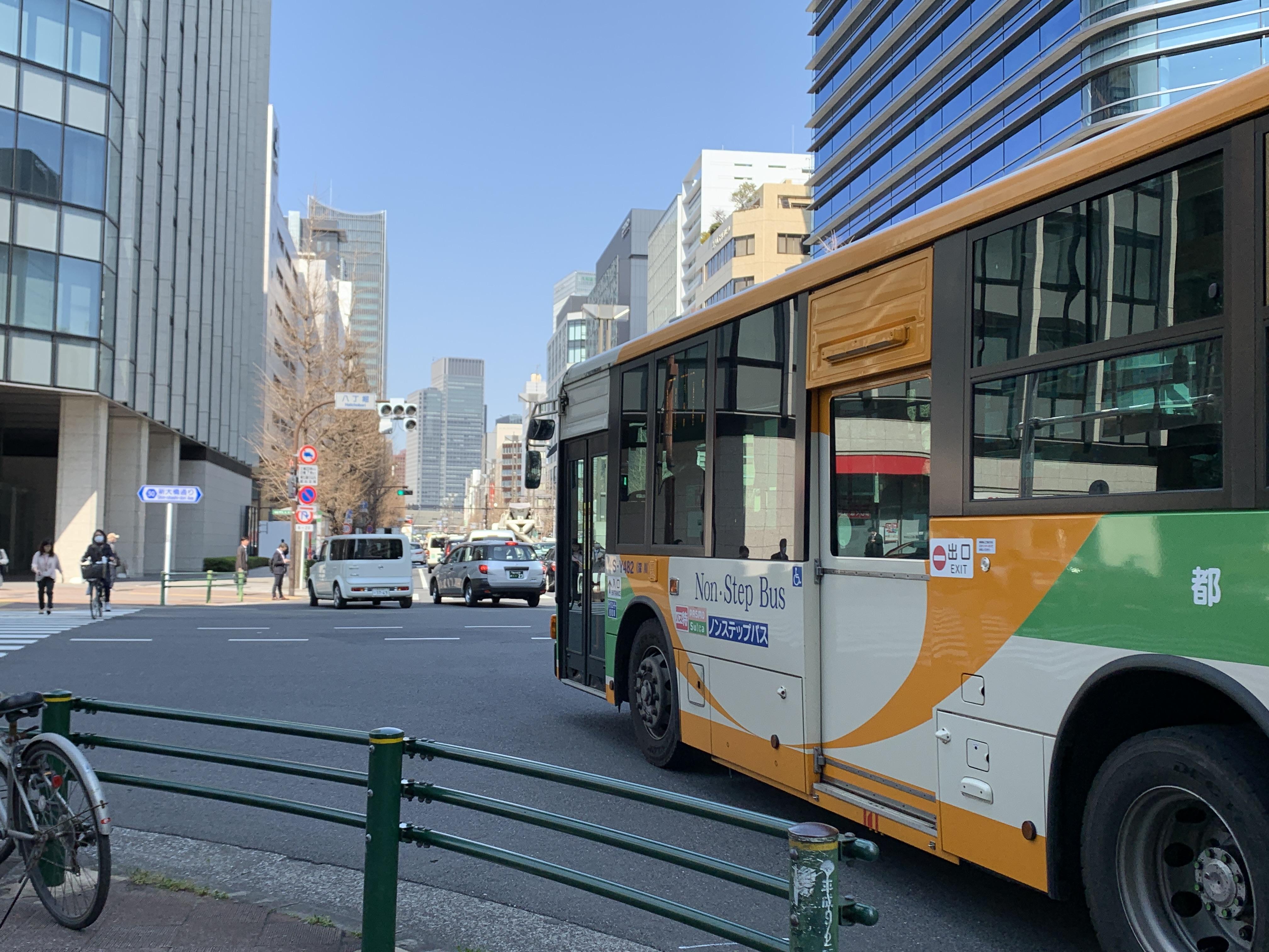 東京駅まで2km楽々ランニング