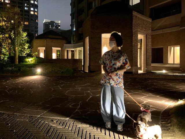 夜のお散歩💞