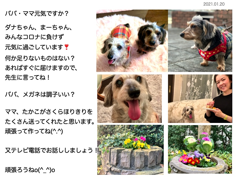 もしもしお手紙vol.2020-1
