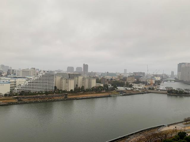 気温3度の寒い朝「幸せ」