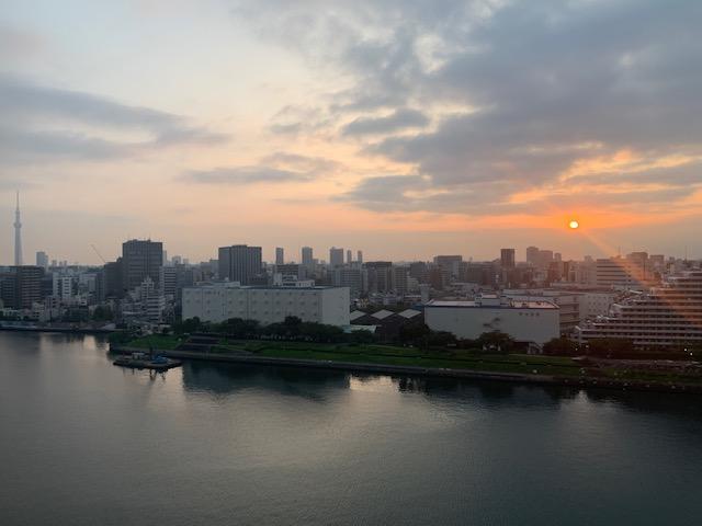 優しい日差しの朝「早め早めに」