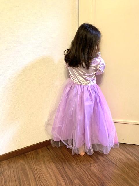 プリンセスかほちゃんの誕生日👗